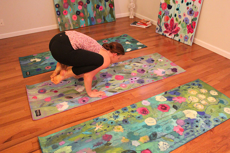 Painted Yoga Mat Can i Still do Yoga on my Mat